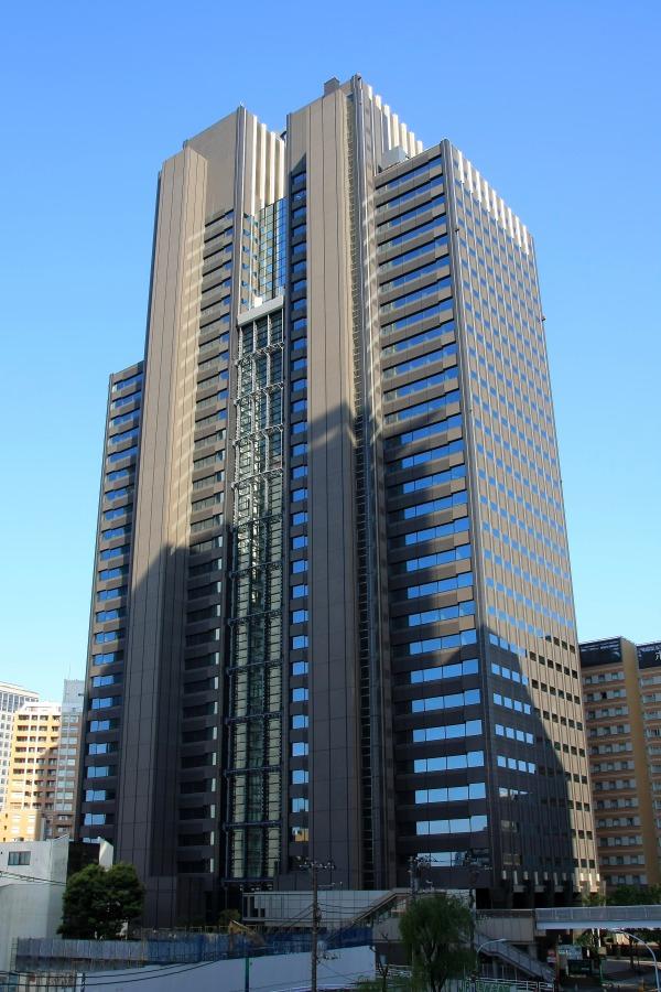 新宿マインズタワーの外観