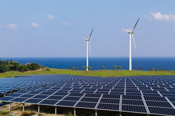 太陽光発電、風力発電