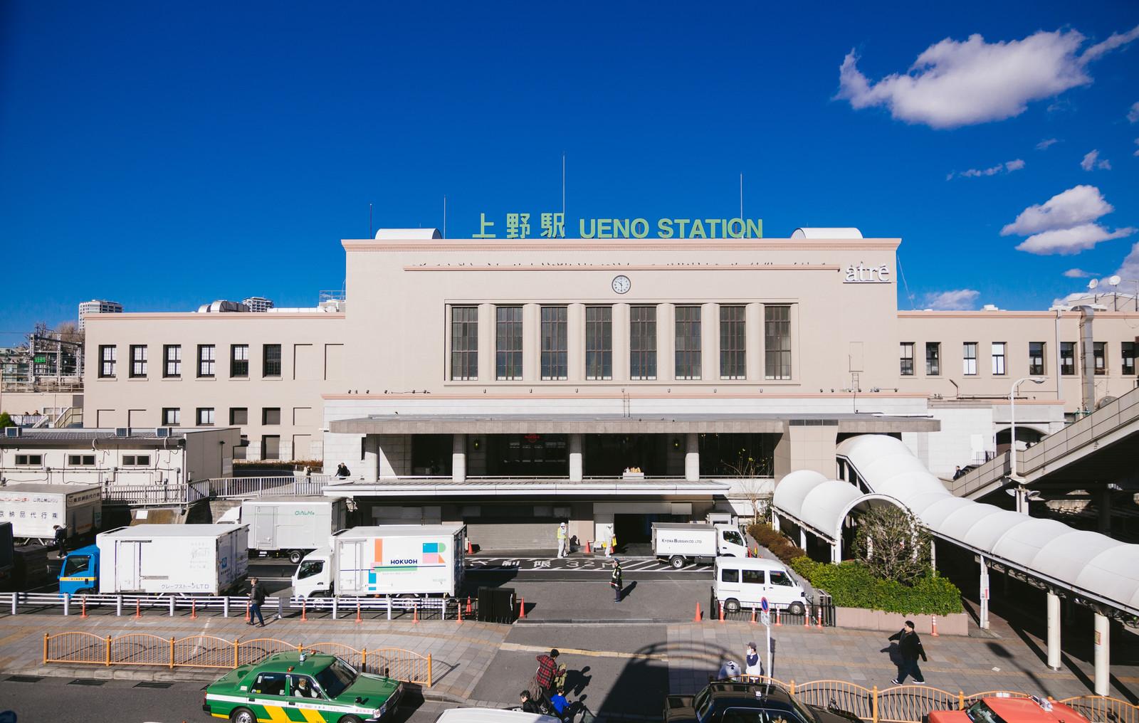 上野駅の外観